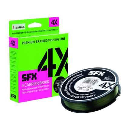 Леска плетеная SFX 4X желтая 135 м 0.405 мм 30.6 кг PE 6 SFX4B405Y150Y