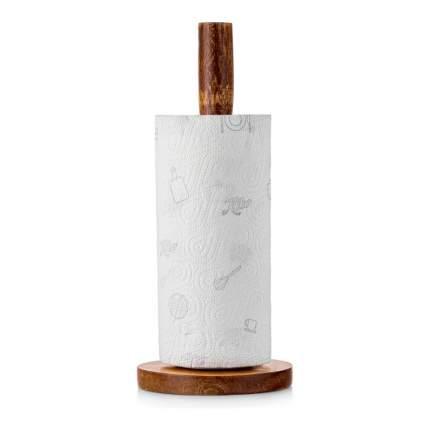 Держатель для бумажного полотенца из натурального дерева Walmer Organic, W37000630