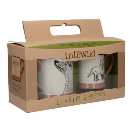 Детский набор кружек Kitchen Craft Fox Family 2 шт, в подарочной упаковке, 0,31л, 5226226