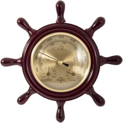 """Метеостанция Brigant """"Штурвал"""": барометр, термометр, гигрометр d=22см"""