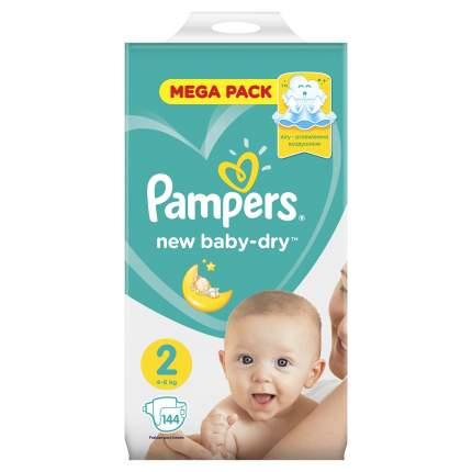 Подгузники Pampers New Baby-Dry Mini (4-8 кг) 144 шт.