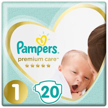 Подгузники для новорожденных Pampers Premium Care Newborn (2-5 кг) 20 шт.