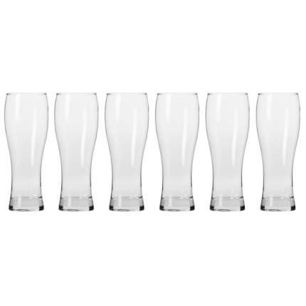 """Набор бокалов для пива Krosno """"Прохлада"""" 500мл, 6 шт"""