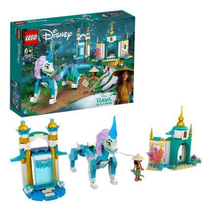 Конструктор LEGO Disney Princess 43184 Райя и дракон Сису