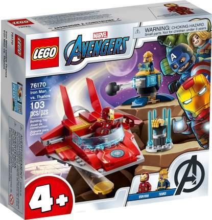 Конструктор LEGO Marvel Avengers Movie 4 76170 Железный Человек против Таноса