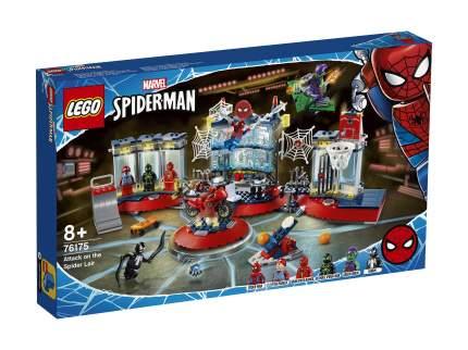 Конструктор LEGO Marvel Super Heroes 76175 Нападение на мастерскую паука