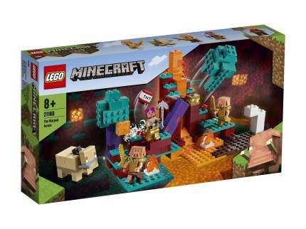 Конструктор LEGO Minecraft 21168 Искажённый лес