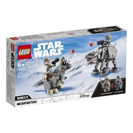 Конструктор LEGO Star Wars 75298 Микрофайтеры: AT-AT против таунтауна