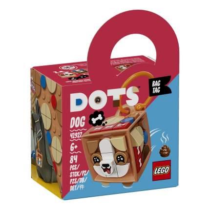 Набор для творчества LEGO DOTS 41927 Брелок «Щенок»