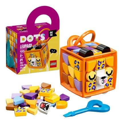 Набор для творчества LEGO DOTS 41929 Брелок «Леопард»