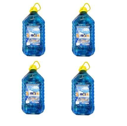 Жидкость стеклоомывателя FrozKO nezamerz-4 зимняя незамерзайка -30 4 шт
