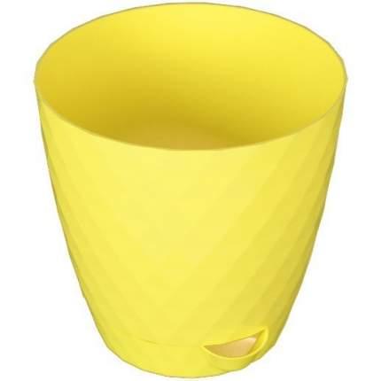 Цветочный горшок садовый Румба 111079 цвет лимон