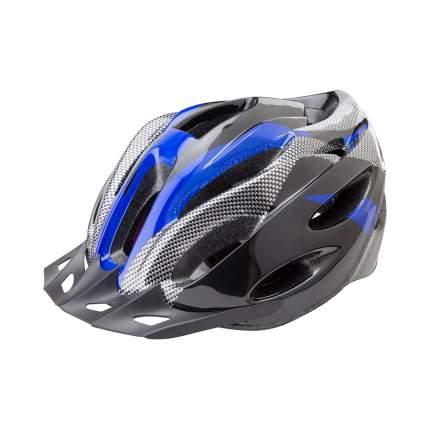Велосипедный шлем Stels FSD-HL021 Out-Mold, черно-синий, L
