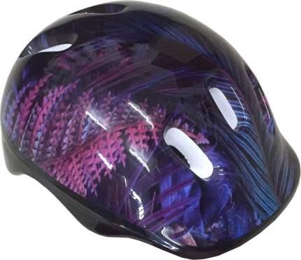Шлем защитный ATEMI подростковый , аквапринт Тропик, 52-54cm, М (6-12 лет), AKH06BM