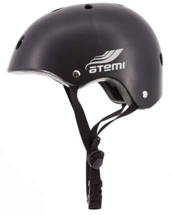 Шлем защитный ATEMI подростковый черный, Размер окруж (52-56cm), М (8-15 лет), AH07BM