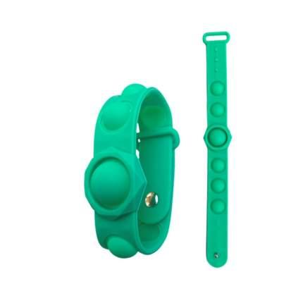 Брелок-антистресс Поп ит wellywell Popit_antistress_bracelet_turquoise