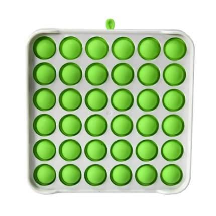 Брелок-антистресс Поп ит wellywell Popit_antistress_Rectangle_Plastic_White_Green