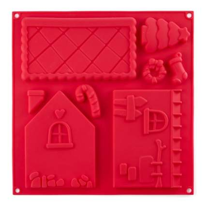 Форма для выпечки Walmer Gingerbread House на 8 изделий, W27303015
