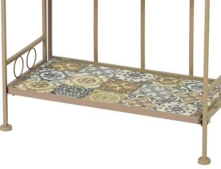 Садовый стеллаж ТУЛУЗА, металл, мозаика, 30,5x57x118см (Kaemingk)