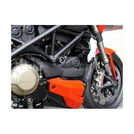 Комплект слайдеров, без резки пластика Bike Design для DUCATI - STREETFIGHTER 09 - Черные