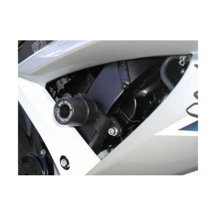 Комплект слайдеров, без резки пластика Bike Design для SUZUKI - GSX 650 F 08 - Черные