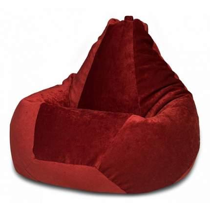 Кресло-мешок Dreambag Бордовый Микровельвет L L, бордовый