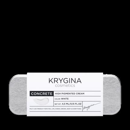 Кремовый пигмент Krygina Cosmetics Concrete White