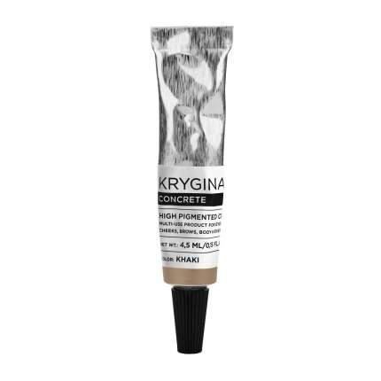 Кремовый пигмент Krygina Cosmetics Concrete Khaki