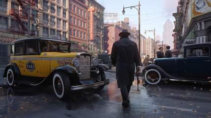 Игра Mafia: Definitive Edition для PlayStation 4 (Нет пленки на коробке)