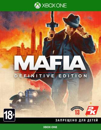 Игра Mafia: Definitive Edition для Xbox One (Нет пленки на коробке)