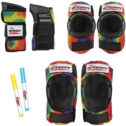 Комплект защиты Wipeout Tie Dye (M 5+) - разноцветный