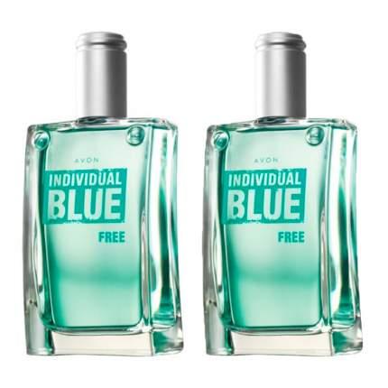 """Туалетная вода AVON """"Individual Blue Free"""" , 100мл*2шт"""