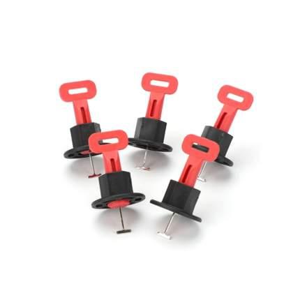 Система выравнивания СВП для плитки 4-16 мм 50 шт зажимов со сменными иглами 1,5 мм