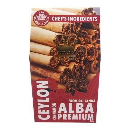 Корица Цейлонская в палочках ALBA Rathna Producers, 30 гр.