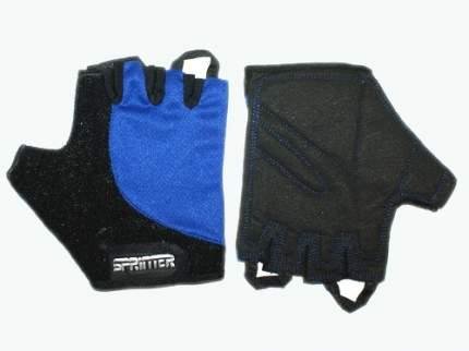 Велоперчатки Sprinter :(C):, черный, XL