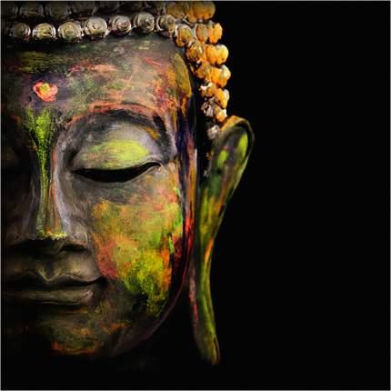 "Картина на холсте с подрамником ХитАрт ""Будда"" 40x40 см"