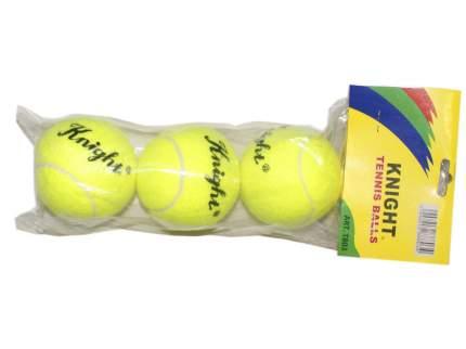 Мяч для тенниса KNIGHT, 3 шт в упаковке. Т 803