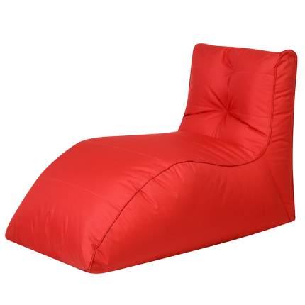 Бескаркасный модульный диван DreamBag Шезлонг one size, оксфорд, Красный