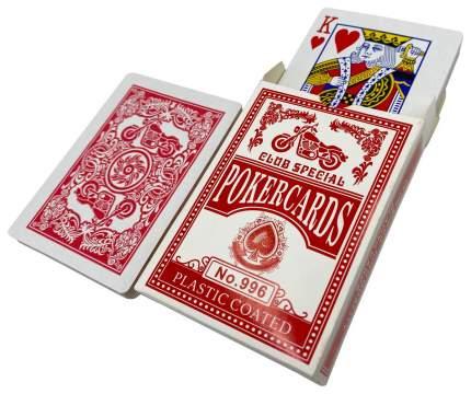 Карты игральные Hittoy Club special №996, красные