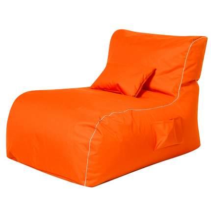 Бескаркасный модульный диван DreamBag Лежак one size, оксфорд, Оранжевый