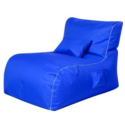 Бескаркасный модульный диван DreamBag Лежак one size, оксфорд, Синий