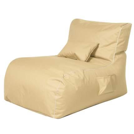 Бескаркасный модульный диван DreamBag Лежак one size, оксфорд, Бежевый