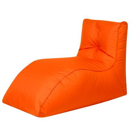 Бескаркасный модульный диван DreamBag Шезлонг one size, оксфорд, Оранжевый