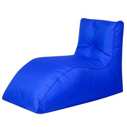 Бескаркасный модульный диван DreamBag Шезлонг one size, оксфорд, Синий