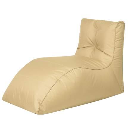 Бескаркасный модульный диван DreamBag Шезлонг one size, оксфорд, Бежевый