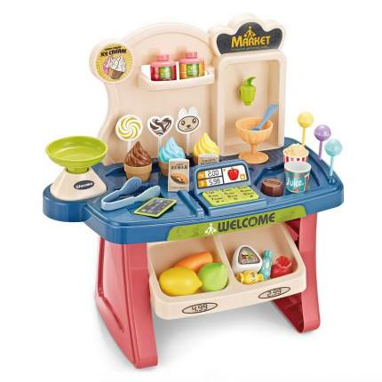 Игровой набор PITUSO Супермаркет с тележкой для покупок со светом и звуком