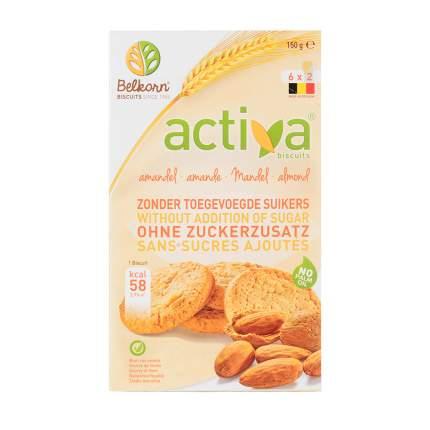 Печенье Activa миндальное без сахара 150 г