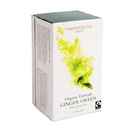 Чай зеленый Hampstead с имбирем 25*2 г