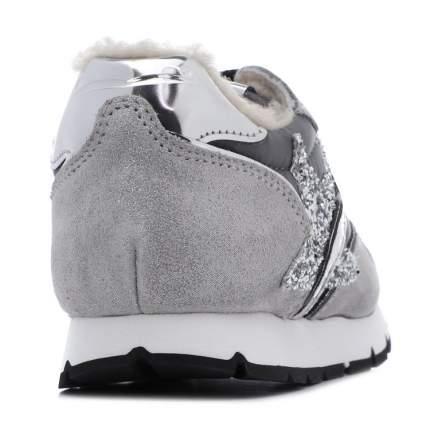 Кроссовки для девочек Voile Blanche Bimbo, цв. серебряный, р.26