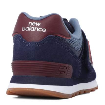 Кроссовки детские New Balance, цв. синий р.32,5